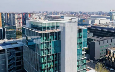 Nel cuore del quartiere Bicocca il «Cubo», la nuova sede «green» del Gruppo 24 Ore