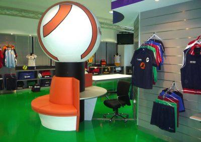 Navaho Sportswear Showroom